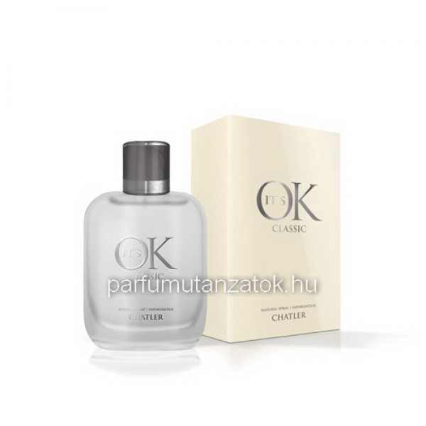 14b37aa66d Chatler Its OK Classic - Calvin Klein CK One parfüm utánzat