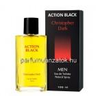 Christopher Dark Action Black - Adidas Active Bodies parfüm utánzat