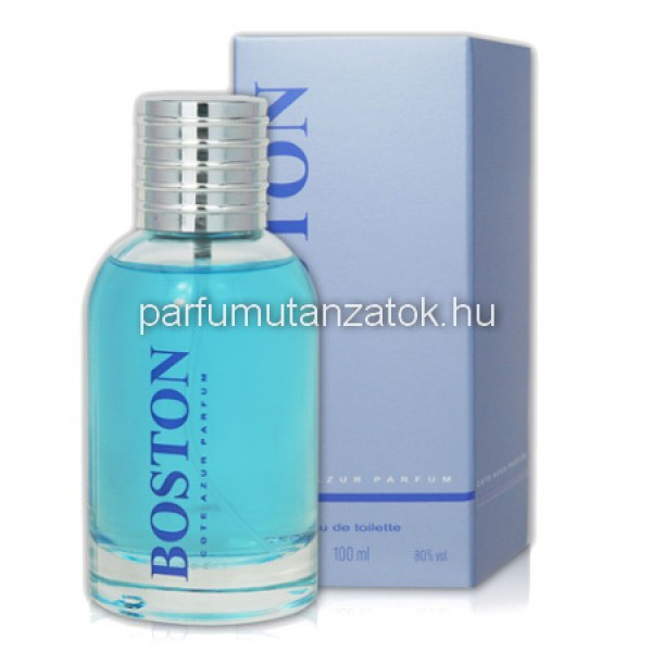7fa91a3e6659b5 Cote d Azur Boston Blue Men - Hugo Boss Bottled Tonic utánzat