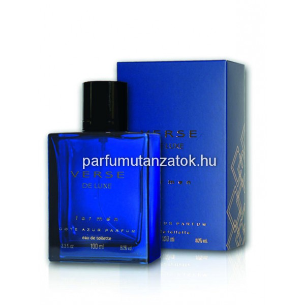 f85b78222a Cote d'Azur Verse de Luxe - Versace Dylan Blue parfüm utánzat