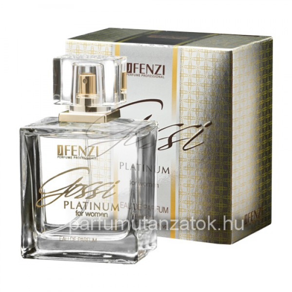 J. Fenzi Gossi Platinum for Women - Gucci Premiere parfüm utánzat c3f856d711